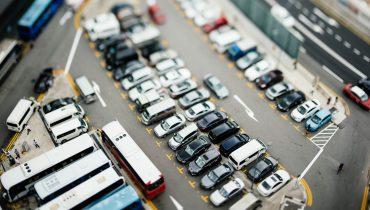parkovisko osobných áut