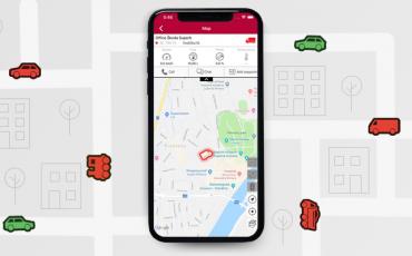 Commander aplikácia - sledovanie vozidiel na mape