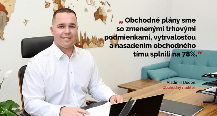 Vladimír Dudon, obchodný riaditeľ