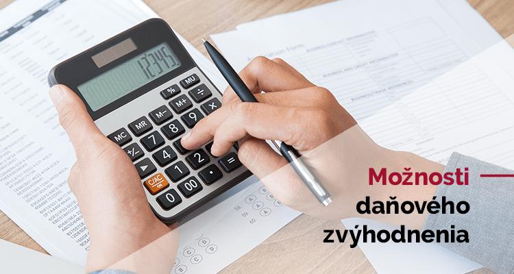 Daňové zvýhodnenie a kalkulačka